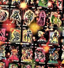 Marvel Universe 3  Cards, rare  POSTER displaying 100 cards