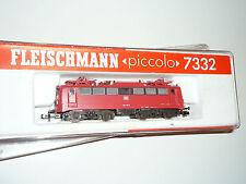 FLEISCHMANN N - 7332 Elektrolokomotive BR 140 198-3 DB Verkehrsrot - OVP.  X307X