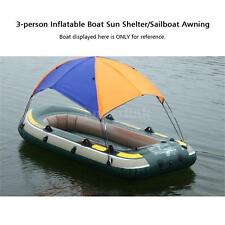 3-person Top Boat Cover Canopy For Inflatable Kayak Canoe Boat
