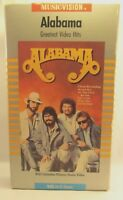 Music Vision Alabama Greatest Hits Video (VHS, 1986)