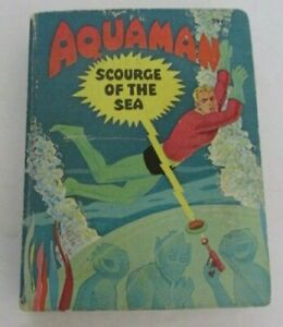 AQUAMAN in SCOURGE of the SEA! Vintage 1968 Whitman BIG Little BOOK #17 #2017!