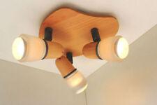 Plafonniers et lustres appliques en bois pour la maison