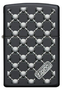 Zippo Barbell Design 60004439 black matte
