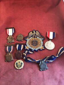 Sons Of Union Vets Civil War Medal Lot