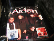 AIDEN TAKE THE OATH SINGED PROMO POSTER 50X38CM