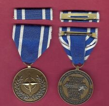 NATO Republic of Macedonia Service medal with ribbon bar