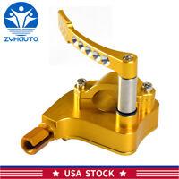 Golden Billet Thumb Throttle Assembly For Yamaha Banshee Yfz Raptor 350 660 700