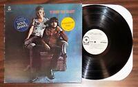 Vintage blues rock lp TO BONNIE FROM DELANEY promo hype sticker 1976 gf Atco 341
