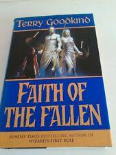 Terry goodkind hardback. Faith of the Fallen