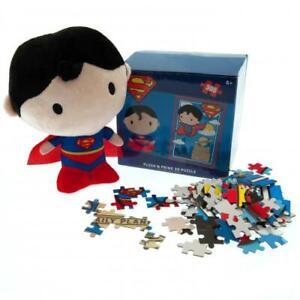 Superman Plush & 3D Puzzle Official Merchandise