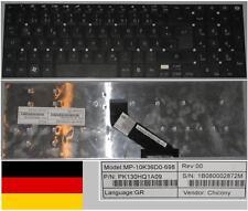 Clavier Qwertz Allemand GATEWAY NV55 MP-10K36D0-698 PK130HQ1A09 Noir
