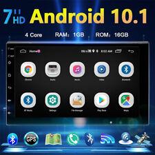 "2Din 7"" Android 10.1 Autoradio GPS Navigazione NAVI WIFI Bluetooth Stereo FM USB"