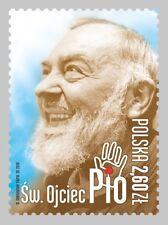 POLEN 2018 Stamp St. Father Pio(2018; Nr kat.:4845)