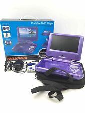 """Sylvania 7"""" Widescreen Color Lcd Portable Dvd Player"""