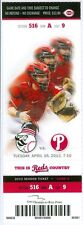 2013 Reds vs Angels Ticket: Brandon Phillips, Howie Kendrick Alberto Callaspo HR