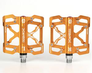 "BMX Road Mountain Bike Pedals CNC Aluminum Alloy MTB Sealed Bearing Pedals 9/16"""