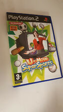 * Sony Playstation 2 Game * U-MOVE SUPER SPORTS * PS2 EYE TOY