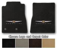 Chrysler Crossfire - Ultimats Carpet Front Floor Mats - Choose Color & Logo