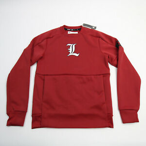 Louisville Cardinals adidas Sweatshirt Men's Red New with Tags