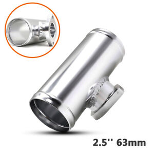 2.5'' 63mm Mass Air Flow Sensor Adapter Pressure Relief Valve Turbocharger Base