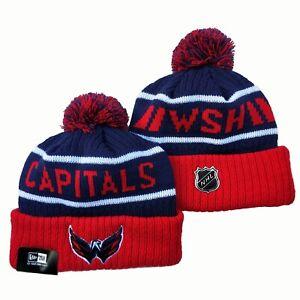 Washington capitals New Era Beanie NHL Hat Adult Size