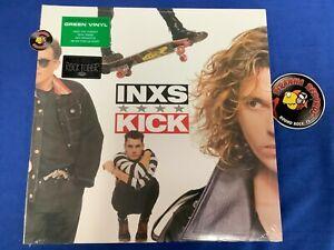 INXS Kick Limited Edition Green Vinyl 2020 Rocktober Rock LP Piranha Records