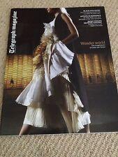 DRIES VAN NOTEN interview Atlanta De Cadenet  UK 1 DAY ISSUE 2014