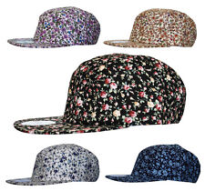 45be190dcd755c RC Headwear All Over Floral 5 Panel SNAPBACK Baseball Cap Hat Snap Back