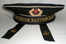 Russian Soviet Naval Navy Sailor Cap Hat Baltic USSR