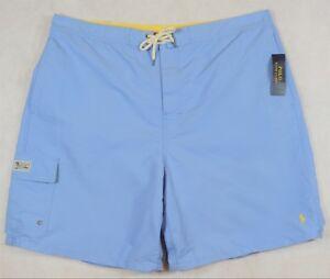 Polo Ralph Lauren Swim Trunks Board Shorts Blue Size 4XB 4X NWT