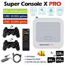 Super Console X Pro New Retro Mini WiFi 4K 1080P Hdmi Tv Video Game 50000 Games