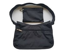 New LeSportsac Solid Collection Classic Hobo Crossbody Bag in Black