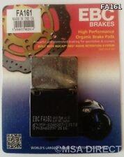 KAWASAKI ZX12R (2000 à 2006) EBC KEVLAR plaquette frein arrière (FA161) (1 set)