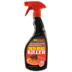 Bed Bug Insect Killer Fast Acting Strong Bugs Dust Mite Spray Carpet Mattress