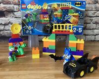 Lego Duplo 10544 Batman, Batmobile & Joker Set Mint With box's No Instructions