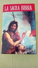 La Sacra Bibbia annotata da Giuseppe Ricciotti  Salani 1993/ Usato come nuovo.
