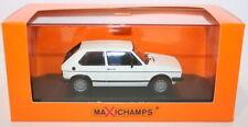 Véhicules miniatures blancs en plastique pour Volkswagen