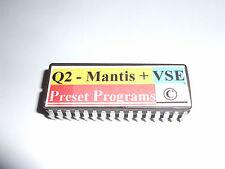 Alesis Quadraverb 2 MANTIS + VSE PRESETS EPROM 100 Shadows Programs  Copyrighted