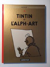 RE 2004 (comme neuf) - Tintin 24 (l'Alph-art) - Hergé - Casterman