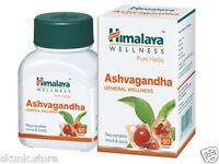 4 X Herbal Ashvagandha Pure Herbs Ashwagandha Indian Ginseng 60 Tablet Ayurvedic
