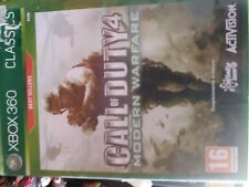 CALL OF DUTY 4 MODERN WARFARE X BOX 360 CON MANUALE