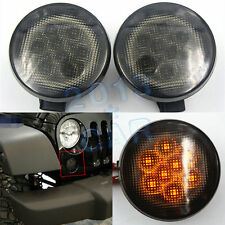 For Jeep Wrangler Front Grill LED Turning Signals Lights 07-15 Newest Parts 2pcs