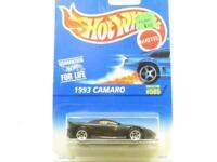 Hotwheels 1993 Camaro 505 15776 Black Long Card 1 64 Scale Sealed