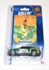 2007 Kevin Durant Seattle Sonics NBA Basketball Upper Deck RC & Dodge Charger BN