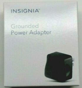 Insignia- Grounded Power Adapter