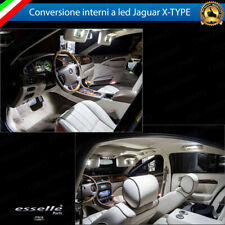 KIT FULL LED INTERNI JAGUAR X-TYPE CONVERSIONE COMPLETA 6000K NO AVARIA LUCI