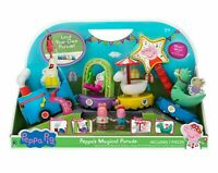 New in Box Peppa Pig Peppa Magical Train Floats Parade Limited Edition  Playset
