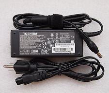 Original Genuine Toshiba SATELITE L305 M305 AC Power Adapter Cord/Charger 75W