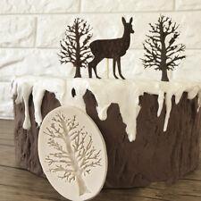 3D Tree Style Silicone Fondant Mold Cake Decorating Chocolate Baking Tool Decor