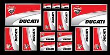 Set n.12 + 3 in omaggio adesivi DUCATI Corse Scuderia Moto Casco